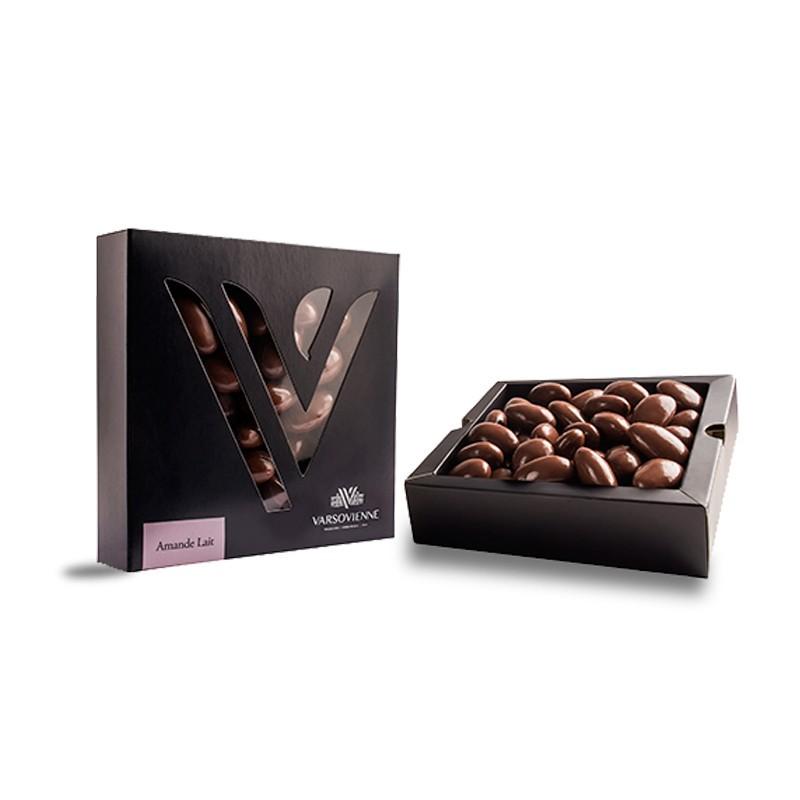 Chocolate Varsovienne Gragea Amande Lait 120 grs.