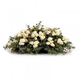 Ovalo Condolencias 50 Rosas