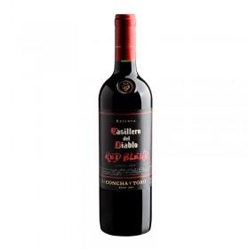 Vino Casillero del Diablo reserva red blend, botella 750 cc