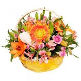 Cesta Flores Mix