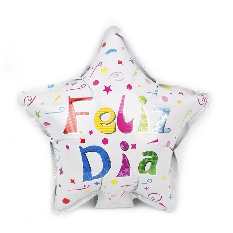 Globo Metálico Feliz Día